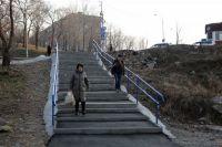 Новые лестницы во Владивостоке
