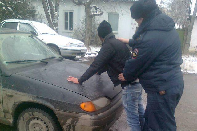 Пьяный угонщик совершил ДТП в Черкесске
