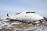 Самолет с омскими хоккеистами не смог улететь из Магнитогорска из-за поломки.