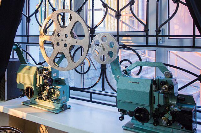 Киноаппарат и сегодня готов показывать зрителям кино.