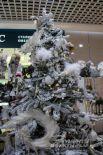 В торговых центрах можно увидеть самые разные елки.