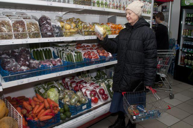 Омичи все чаще обращают внимание на то, сколько стоят продукты.