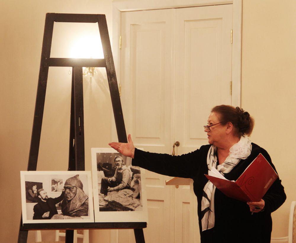 Роль ведущей на себя взяла Лидолия Никитина