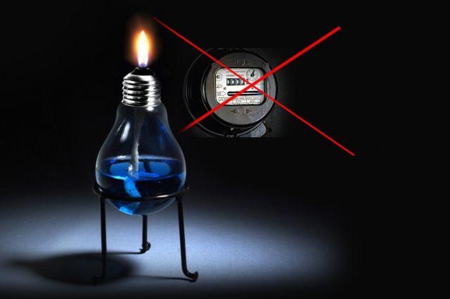 Счева вместо лампочки