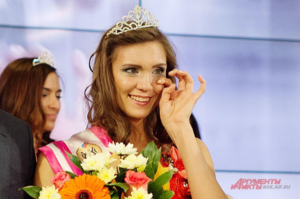 «Мисс Физкультуры 2014» - Марина Пырьева, тренер по плаванию и мастер спорта по плаванию.