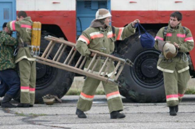 Двух человек не удалось спасти на пожаре.