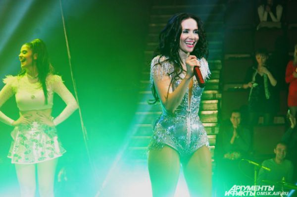 Омск посетила с концертом «Дикий ангел» Наталия Орейро.