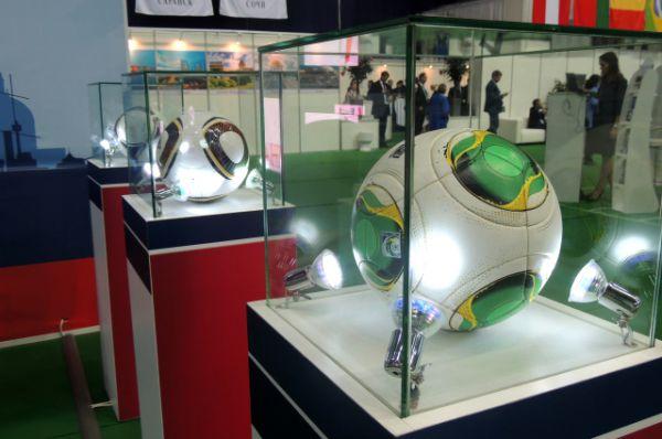 В Петербурге открылась Международная выставка-конференция Football Build Expo