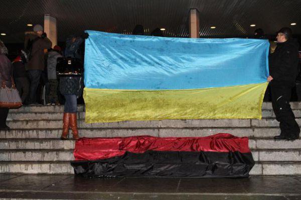 Попытка сорвать концерт Ани Лорак в Киеве 26 ноября