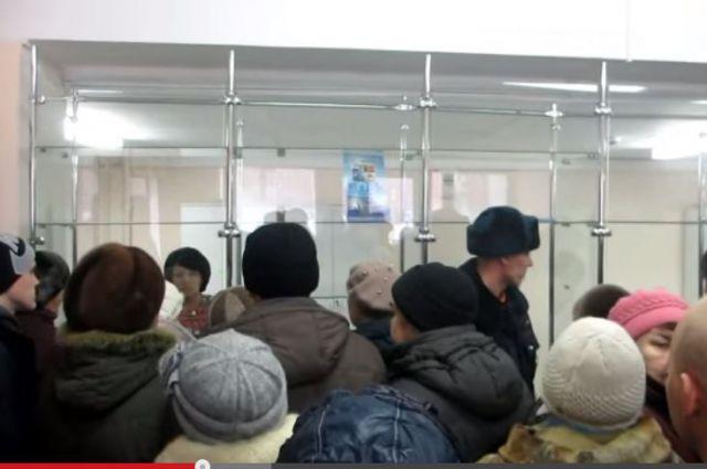 В аптеке под Новосибирском произошла давка из-за льготных лекарств