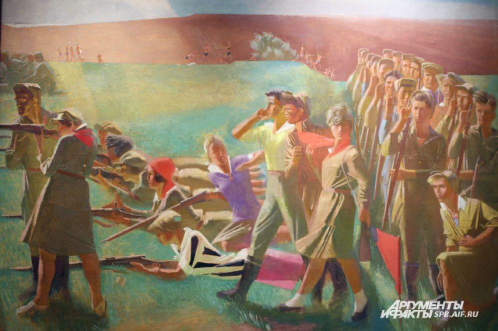 Военизированный комсомол. 1932 - 1933 годы
