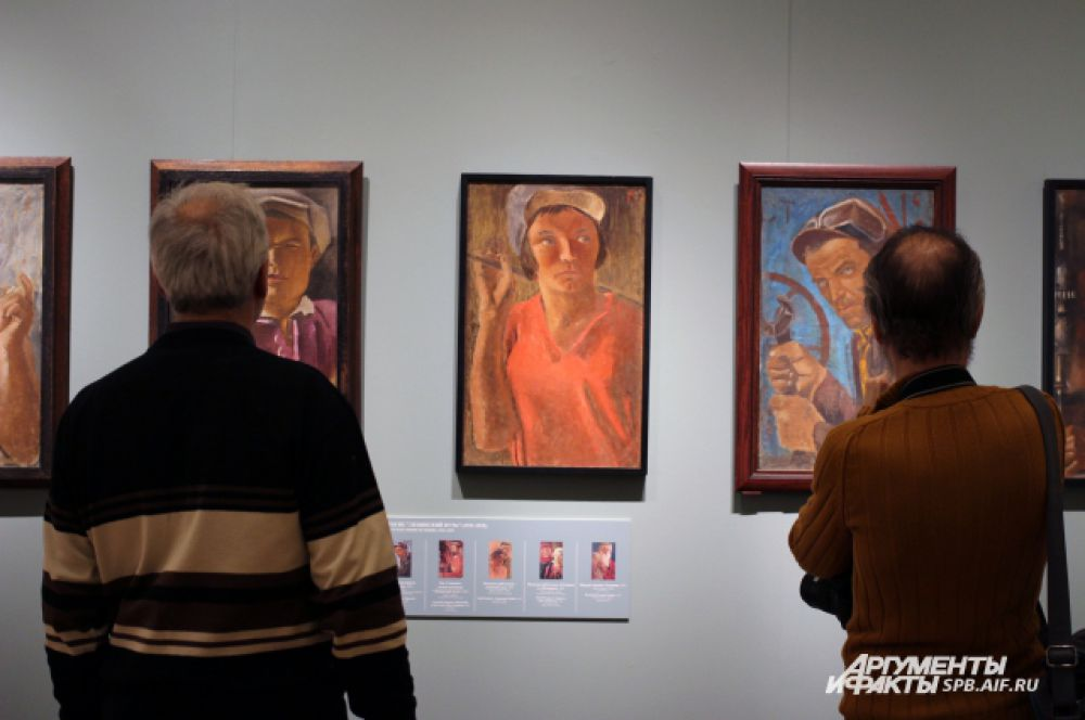 Портреты из серии В Коммуне Ленинский путь. 1931 - 1932 годы