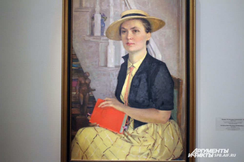 Портрет М.А. Клещар-Самохваловой. 1957 год