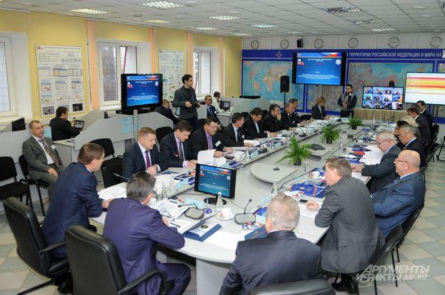 Выездное заседание комитета Совета Федерации по обороне и безопасности.