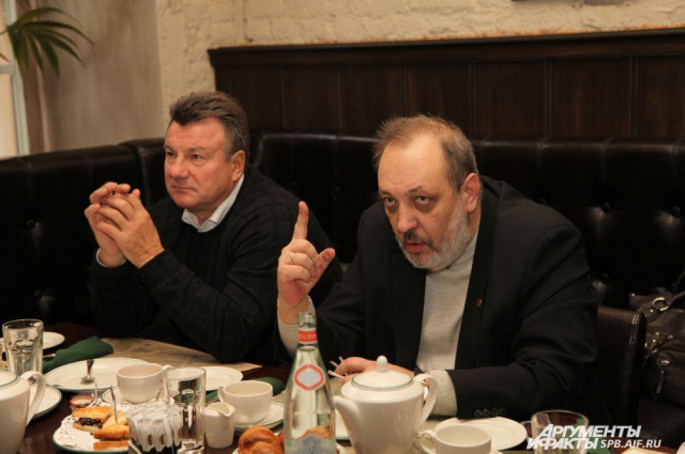 Александр Абросимов и Алексей Третьяков - член ТПП Санкт-Петербурга
