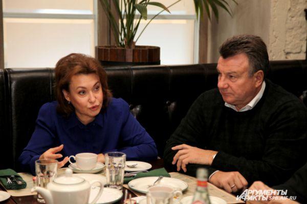 Ирина Иванова и Александр Абросимов - уполномоченный по защите прав предпринимателей Санкт-Петербурга