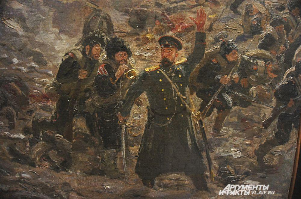 «Тюренченский бой». Фрагмент.