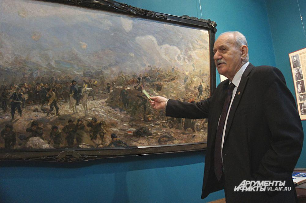 Геннадий Турмов рассказывает о картине «Тюренченский бой».