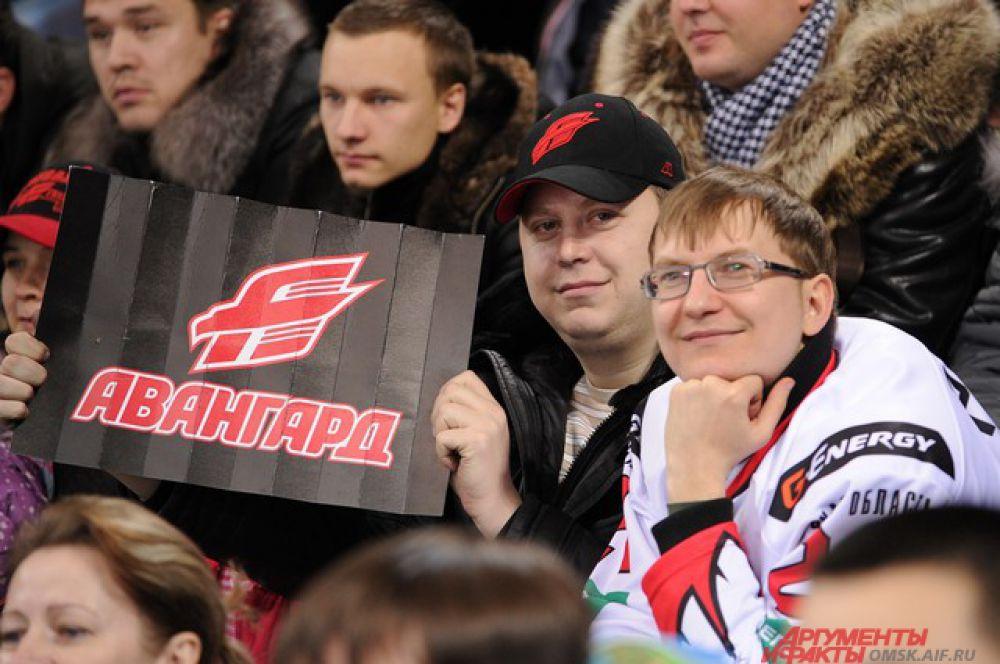 «Авангард» обыграл «Салават Юлаев» из Уфы со счётом 2:1.