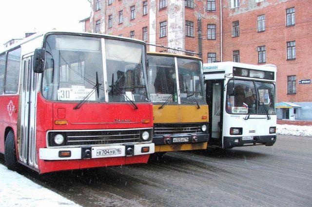 схему движения автобусы