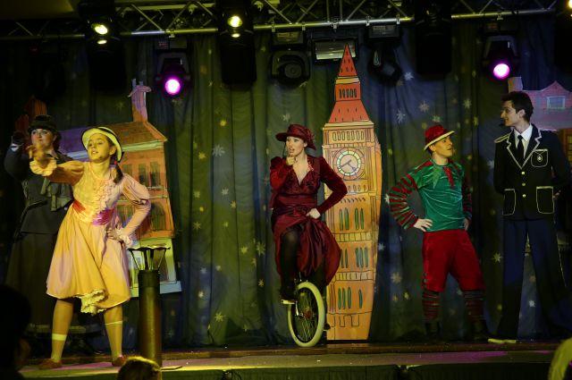 Шоу «Алиса в стране чудес»