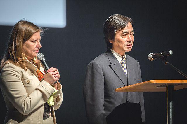 Выступление на фестивале «Владивосток - культурное окно в Азию».