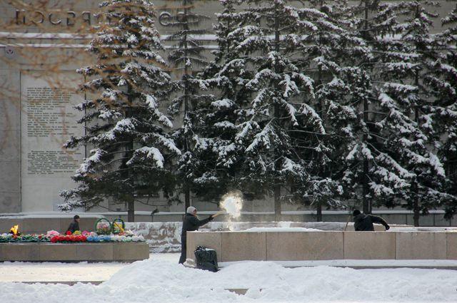 «Вечный огонь» в Иркутске.