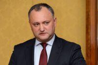 Глава партии социалистов Молдавии Игорь Додон.