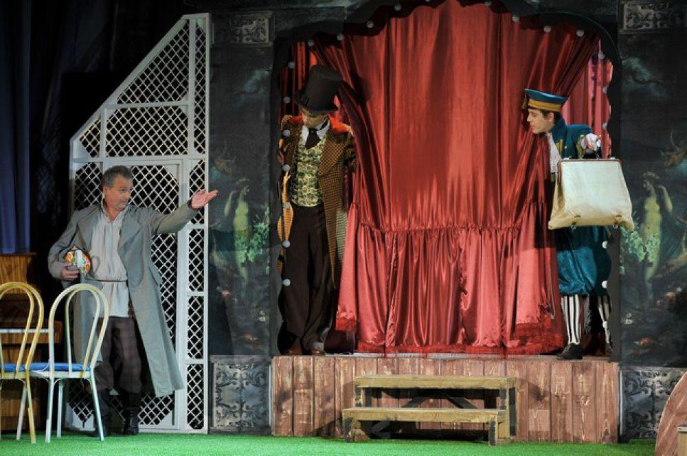 В «Галёрке» прошла премьера спектакля «Обманутый муж, или Брак по страсти».