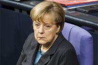 Канцлер Германии А. Меркель.