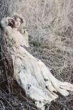 На фотосессии в образе лесной дивы