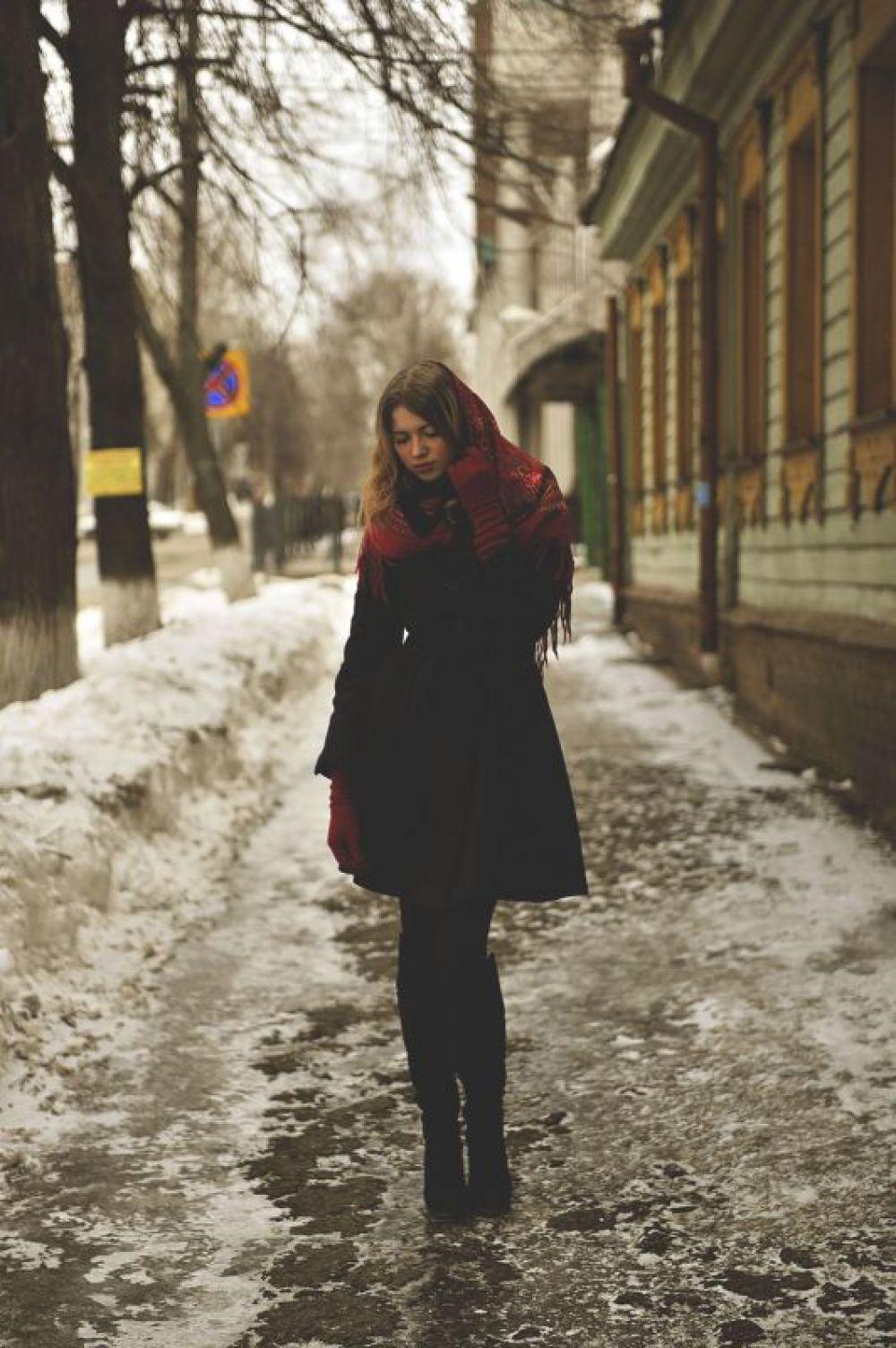 Горожанка на улице