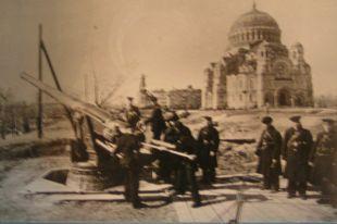 Фашисты не осмелились штурмовать морской город.
