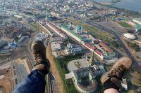 Фотограф летал над многими городами Поволжья.