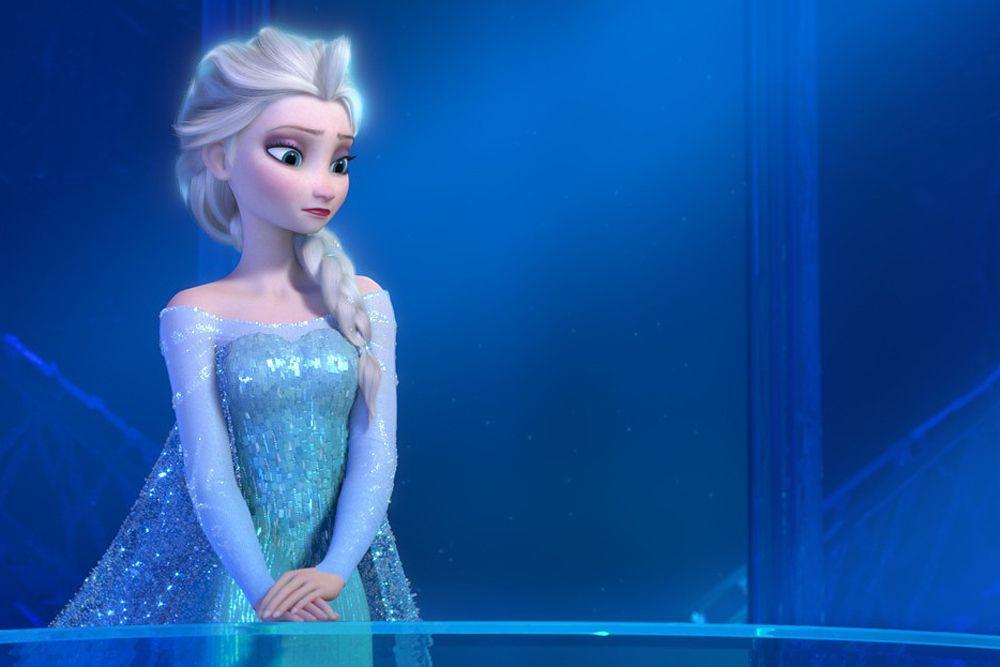 Или Эльзы – главной героини мультика «Холодное сердце».