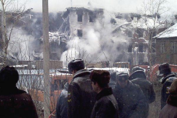 Сильнее всех пострадал дом по улице Гражданской, 45.