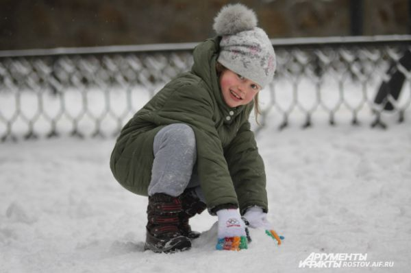 Поиграем в снежки?