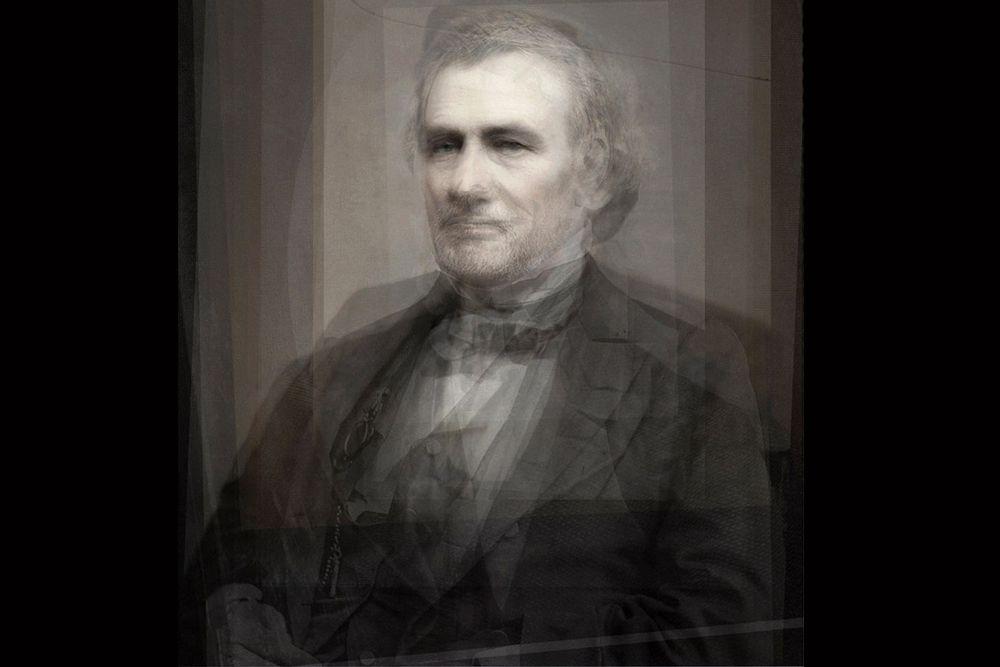 Президенты США: 1789–1889 годы. В этой работе использовались не только фотографии, но и картины: сюда даже попали отцы-основатели американской демократии — Джордж Вашингтон и Джон Адамс. Удивительно, но черты одного из самых узнаваемых президентов США – Авраама Линкольна на общем портрете почти не проглядываются.