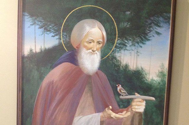 В Омске открылась вставка святого.