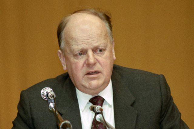 Станислав Шушкевич, 1993 год.