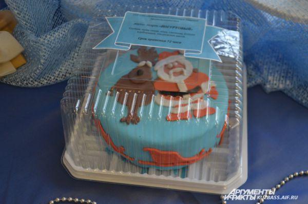 «Новогодние» торты ничуть не уступали по красоте и вкусу «крымским».