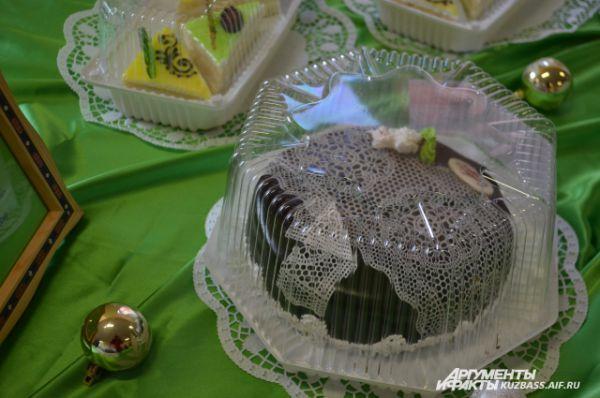 «Кружевной» торт.