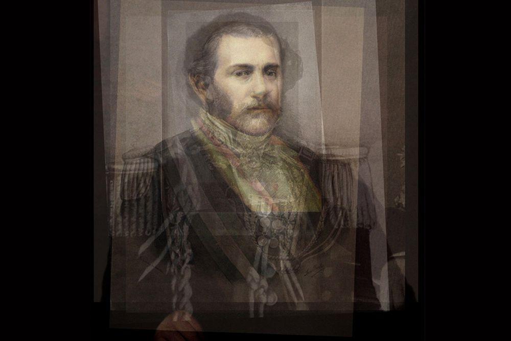 Все президенты Аргентины с 1826 по 1892. В портрет вошли лидеры Аргентины ,которая перестала быть колонией Испании. Тем не менее, влияние армии Испании прослеживается в мундирах лидеров.