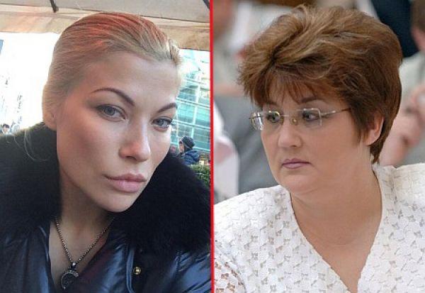 Дария и ее тетя - Елена Ледовских, прошедшая в новую Раду по списку Народного фронта под номером 27