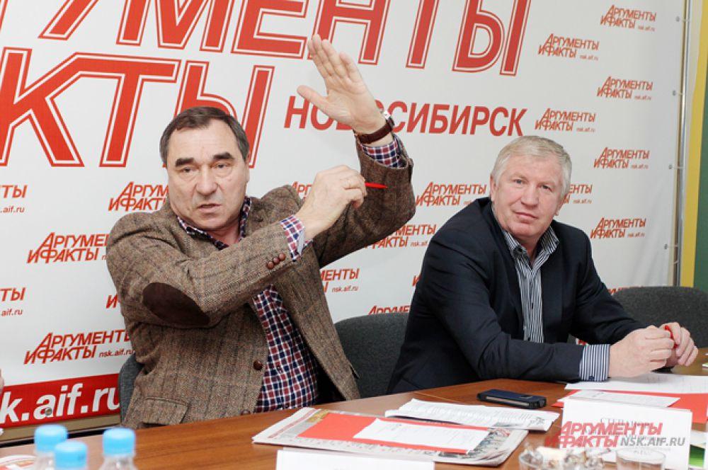 Анатолий Степанов и Василий Коваленко