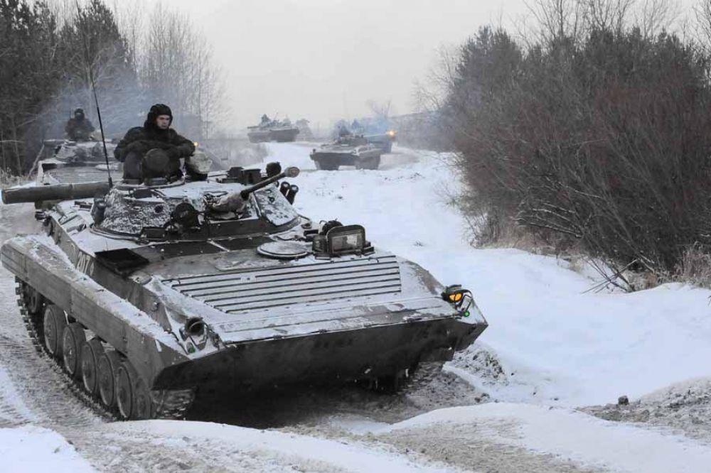 Участники сборов признавались, что во время вождения техники, чувствуешь мощь российского вооружения.
