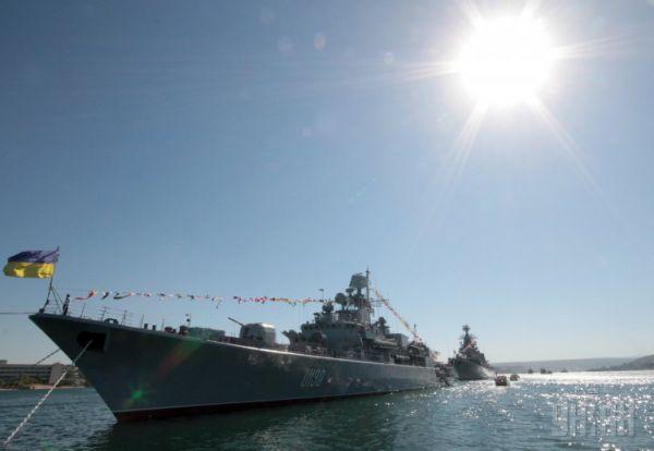 Особая гордость нашего флота – фрегат «Гетьман Сагайдачний». Флагман Военно-морских сил Украины был спущен на воду 29 марта 1992 года