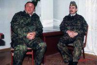 Джохар Дудаев и Павел Грачев.