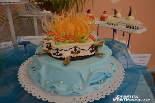 Торт «Солнце над Крымом».