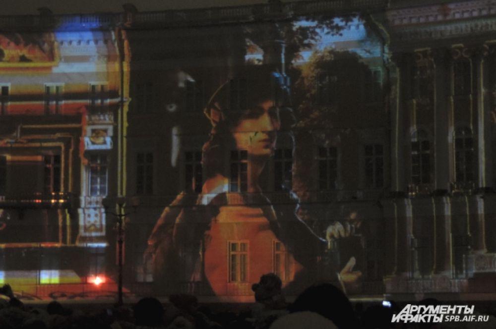 Петербуржцам продемонстрировали знаменитые картины Эрмитажа